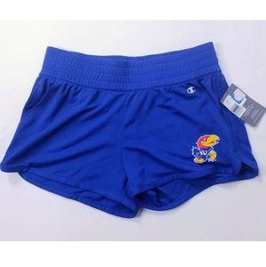 Champion Kansas Jayhawks  Logo Cheer Shorts